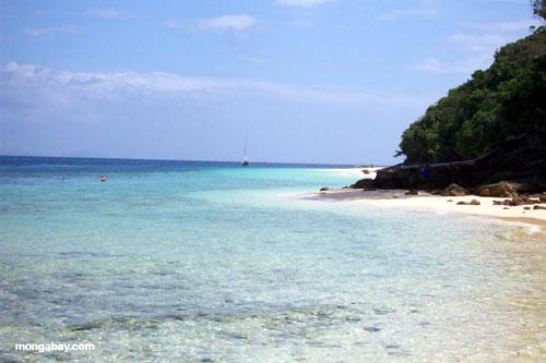 Filones y playas de Rok del koh
